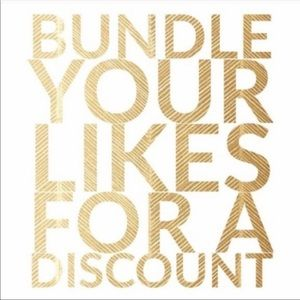 Bundle 2+ of your likes for discount up to 30%